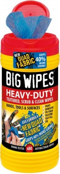 Big Wipes Antibac Heavy Duty, 80 tørk